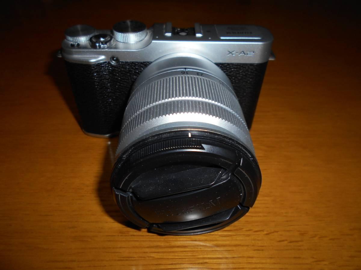 FUJIFILM☆1630万画素 ミラーレスカメラ 「X-A2」