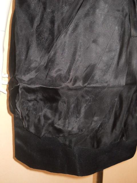 新品 スコットクラブ 系列 LASUD ラシュッド ドレス ワンピース シルク100% 定価28000円のお品 メ2276_画像3
