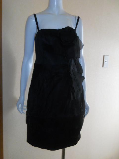新品 スコットクラブ 系列 LASUD ラシュッド ドレス ワンピース シルク100% 定価28000円のお品 メ2276_画像2