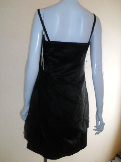 新品 スコットクラブ 系列 LASUD ラシュッド ドレス ワンピース シルク100% 定価28000円のお品 メ2276_画像4