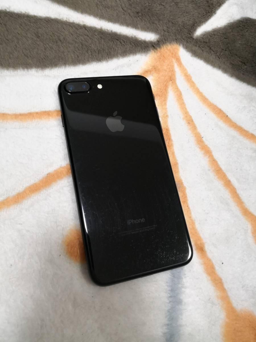 iPhone7Plus ジェットブラック 256GB Apple SIMフリー_画像3