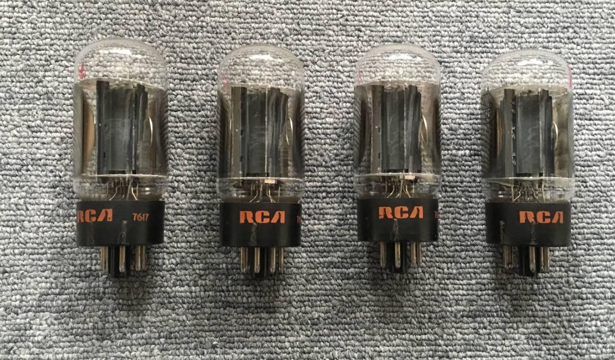 真空管 RCA 6L6GC ジャンク(その1)