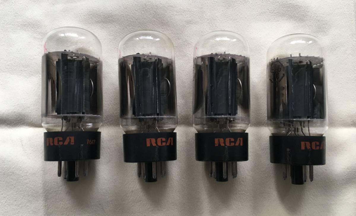 真空管 RCA 6L6GC ジャンク(その1)_画像2