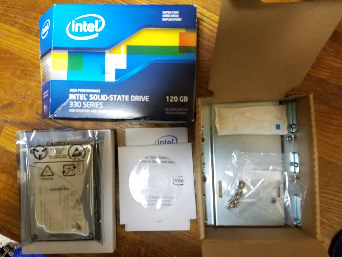 中古 Intel SSD 330Series 120GB 動作確認 フォーマット済_画像2