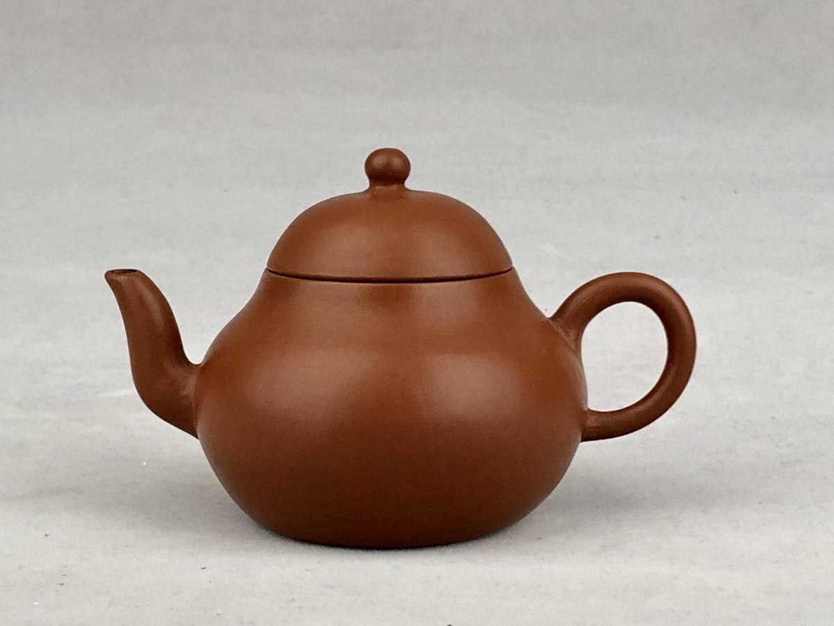 煎茶道具 朱泥急須在銘