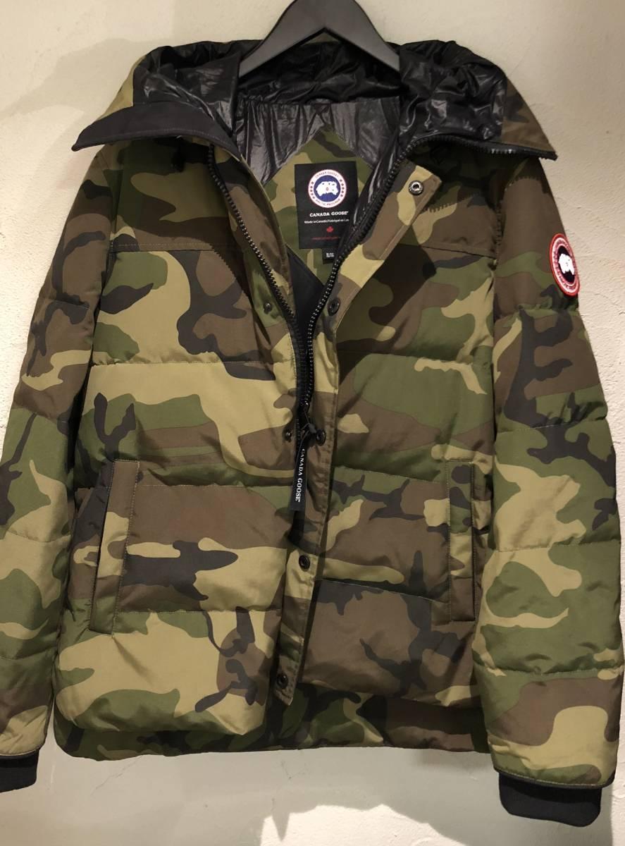 新品未使用 CANADA GOOSE カナダグース MACMILLAN PARKA マクミランパーカ 迷彩 メンズダウンジャケット XL