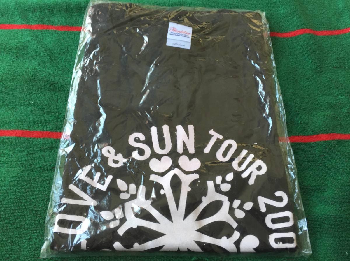 植村花菜/愛と太陽ツアー2008 Tシャツ 新品 黒