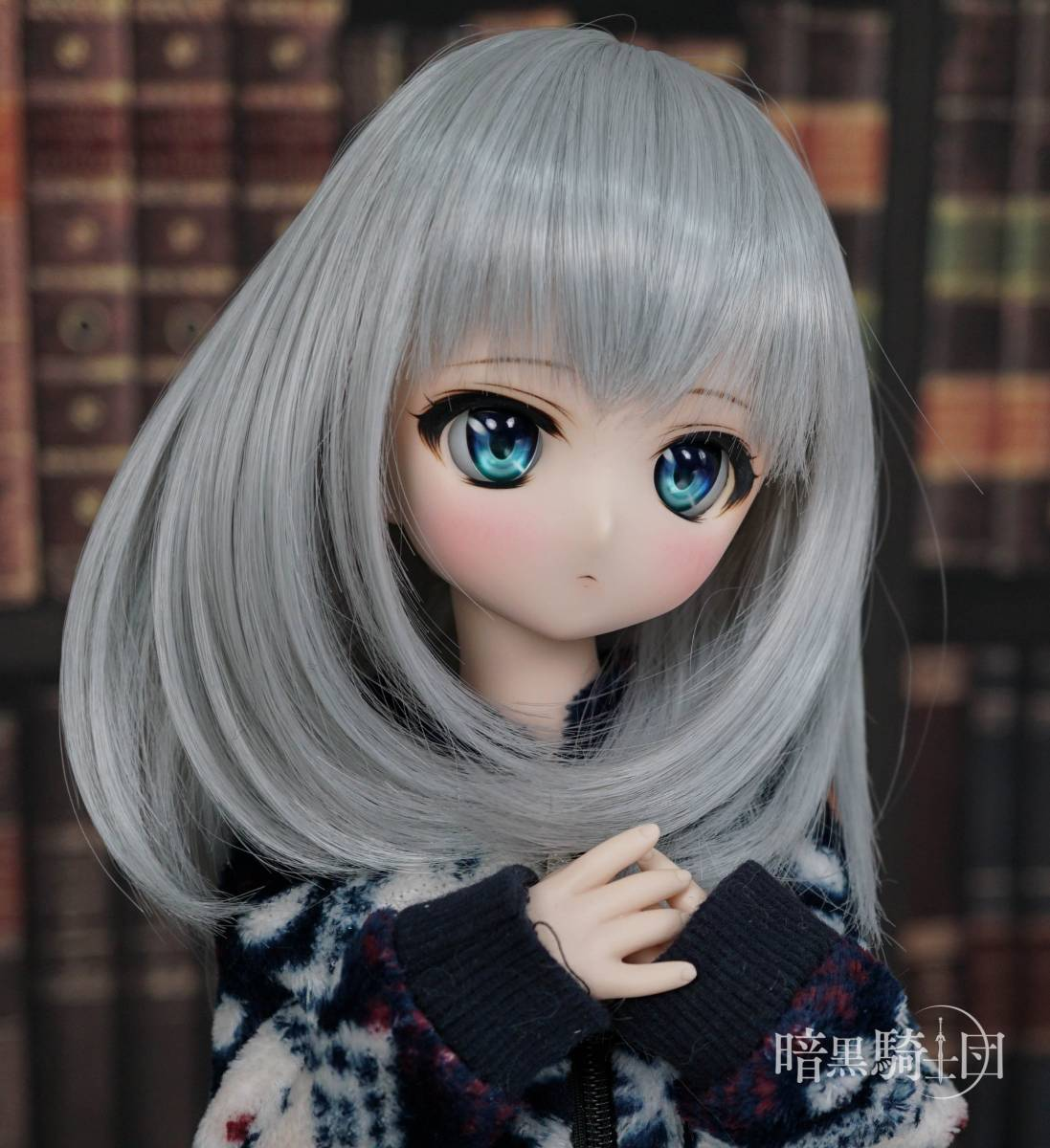 DDH-01ノーマル肌カスタムヘッド+アイ一組 ◇暗黒騎士団◇_画像4
