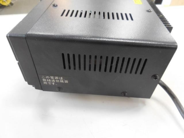 ○1円~ALINCO アルインコ安定化電源 DM-305MV AC100V→DC13.8V 動作確認済_画像6