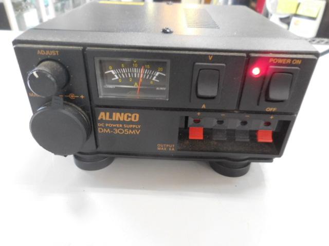 ○1円~ALINCO アルインコ安定化電源 DM-305MV AC100V→DC13.8V 動作確認済