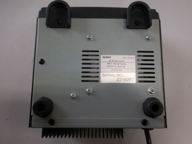 ○1円~ALINCO アルインコ安定化電源 DM-305MV AC100V→DC13.8V 動作確認済_画像8