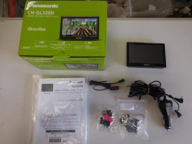 ○1円~2013年製 パナソニック ゴリラ CN-GL320D 5V型 走行中TVナビ操作可!SSDポータブルナビ 地デジワンセグ