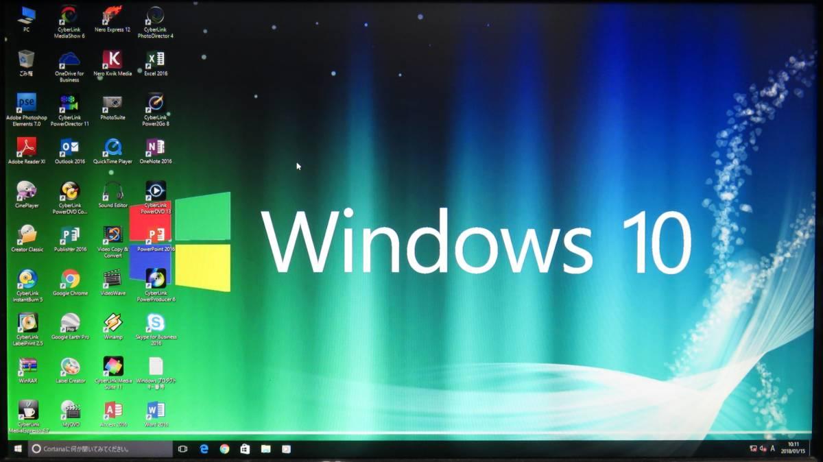 秒速起動 i7 第4世代4770K / 8GB / 新SSD128GB + 1TB★自作PC◆GTX 760Ti◆ Windows10★Office2016付◆水冷◆80PLUS◆USB3.0◆値下げ。即決_画像2