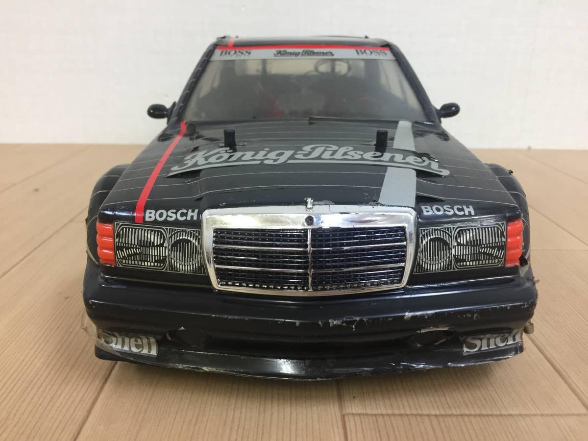 01-I380S【タミヤ/TAMIYA】RC Mercedes 190E EVO II AMG TA01◆ジャンク・部品取り_画像2