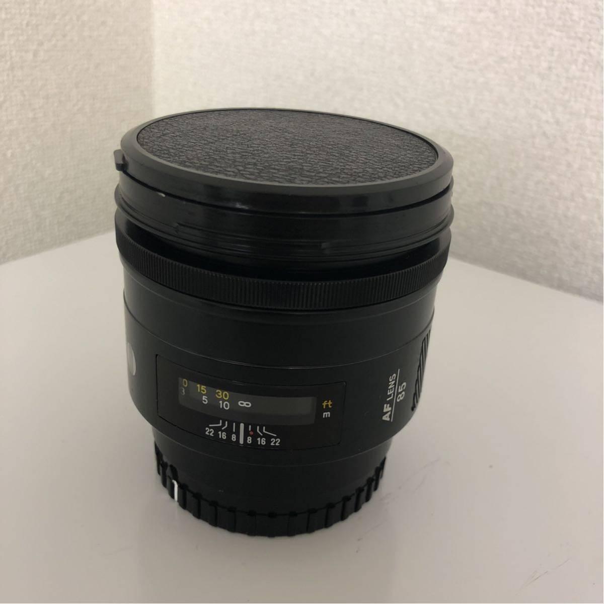 [カメラレンズ]ミノルタ/MINOLTA AF LENS 85mm 1:1.4(22)_画像2