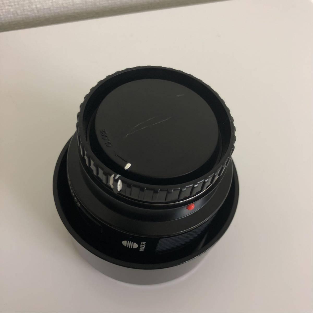 [カメラレンズ]ミノルタ/MINOLTA AF LENS 85mm 1:1.4(22)_画像6