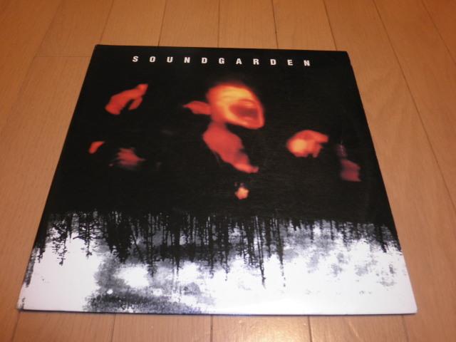 SOUNDGARDEN サウンドガーデン SUPER UN KNOWN LP アナログレコード_画像1