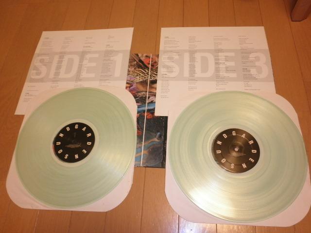 SOUNDGARDEN サウンドガーデン SUPER UN KNOWN LP アナログレコード_画像3