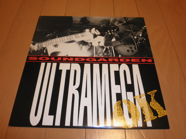 SOUNDGARDEN サウンドガーデン ULTRAMEGA OK LP アナログレコード_画像1