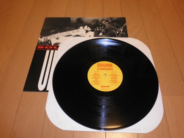 SOUNDGARDEN サウンドガーデン ULTRAMEGA OK LP アナログレコード_画像3