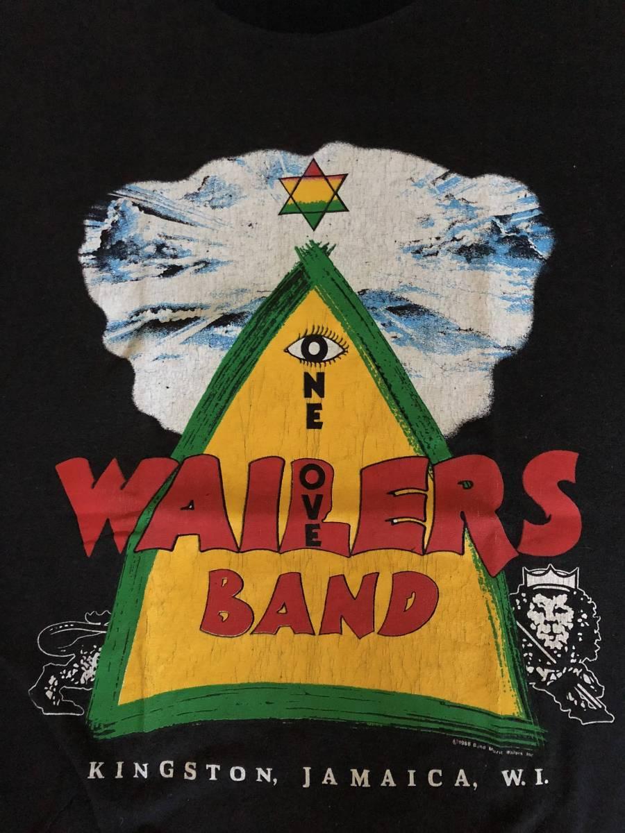 ヴィンテージ bob marley wailers reggae レゲエ ボブマーリー ウェイラーズ supreme シュプリーム ビンテージ Tシャツ 80年代