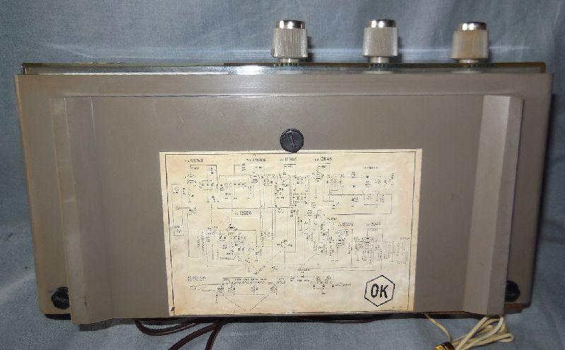 FM SW MW 3バンド小型真空管ラジオ・TRIO・トリオ・AF-251・感度良好_画像10