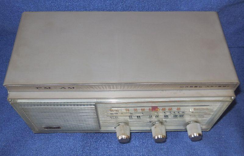 FM SW MW 3バンド小型真空管ラジオ・TRIO・トリオ・AF-251・感度良好_画像8