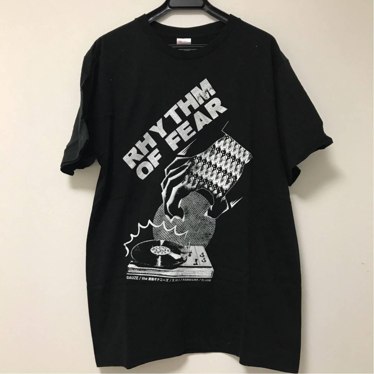 RHYTHM OF FEAR Tシャツ GAUZE SLANG