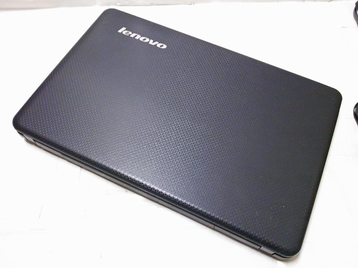 ◇整備済PC/Windows10 Home 64bit Lenovo G550 2コア Dual-Core T3300 2.00GHz 3GB 320GB DVDハイパーマルチ Webカメラ 無線 即使用◆_画像5
