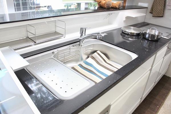 □タカラ システムキッチン レミュー 大理石 IHクッキングヒーター 展示品_画像5