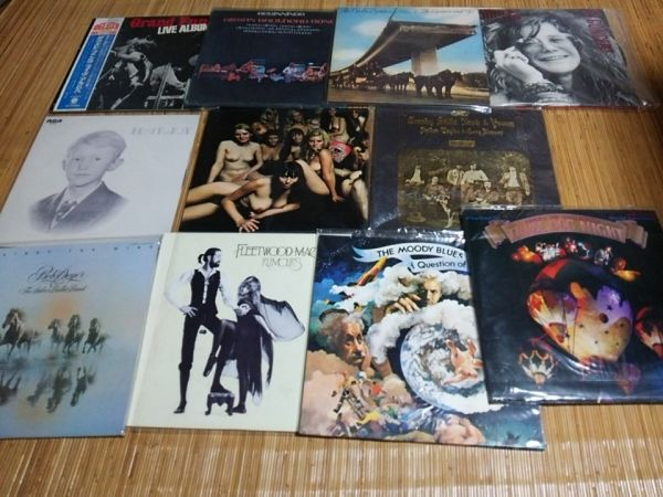 LP ロック レコードまとめて60枚(2箱) ジミ・ヘンドリックス グランド・ファンク・レイルロード他 洋楽 ポップス_画像5