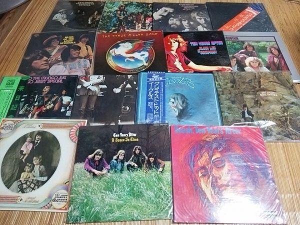 LP ロック レコードまとめて60枚(2箱) ジミ・ヘンドリックス グランド・ファンク・レイルロード他 洋楽 ポップス_画像2