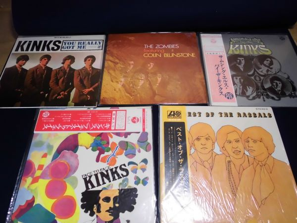 LP レコード ザ・キンクス(The Kinks)多め、ラスカルズ、アニマルズ、ゾンビーズ、ザ・フー 他 中古 まとめて 20枚です。_画像1
