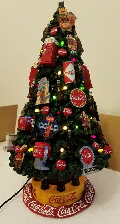 コカコーラ ダンバリーミント クリスマスツリー デコレート イルミネーション 19