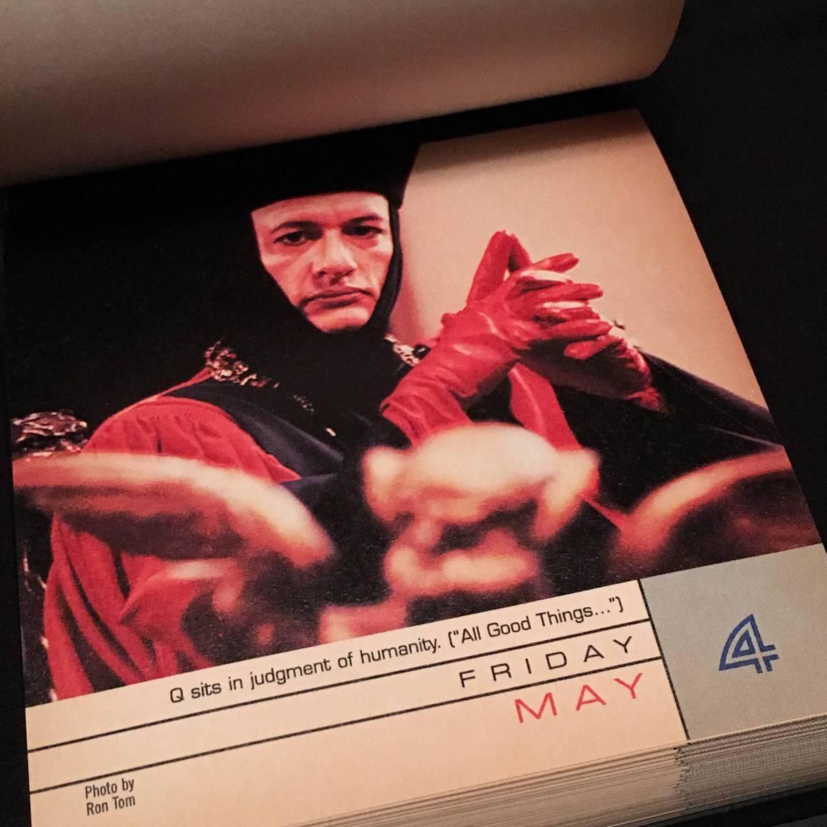 【超レア】STAR TREK STARDATE 2001 カレンダー【日めくり/365枚】【スタートレック】【箱入】【POCKET BOOKS】【2001年】【貴重】_画像7