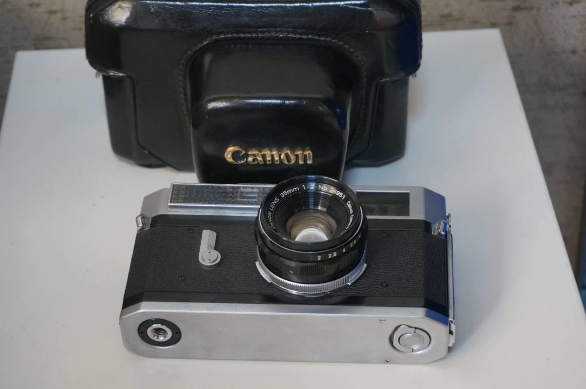 canon 7 CANON LENS 35mm 1:2_画像3