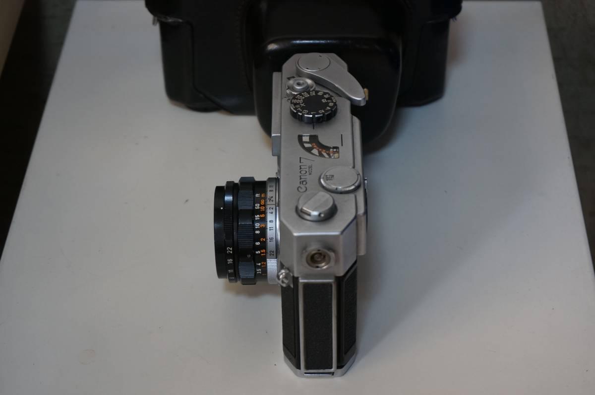 canon 7 CANON LENS 35mm 1:2_画像5