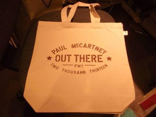 ポール マッカートニー paul mccartney 公式 ツアー グッズ 2013 バッグ 新品 未使用