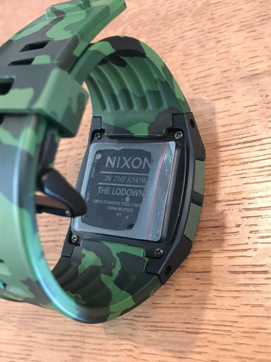 新品未使用品 ニクソン/NIXON タイドグラフ 迷彩 腕時計 値下げ交渉あり_画像4