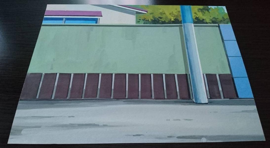 【背景】ドラえもん 4枚 セット その1( 検; 藤子・F・不二雄 ドラえもん セル画 原画 動画 背景 レイアウト )_画像3