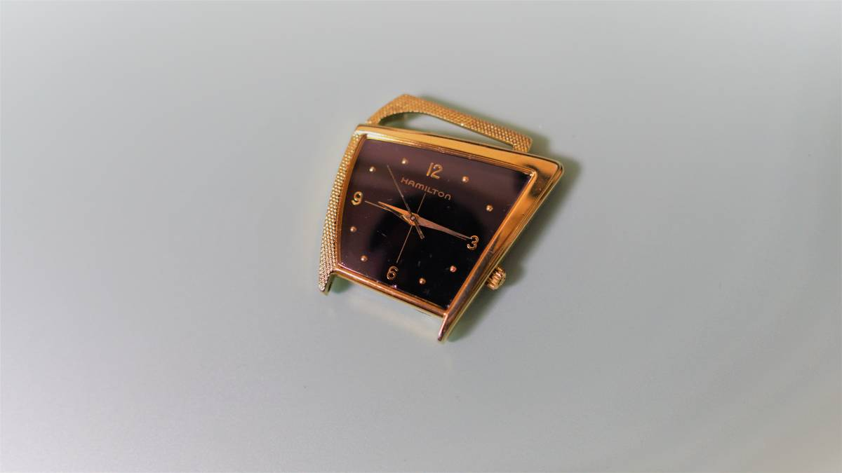 ハミルトン フライトⅡ黒文字盤 6230 クォーツ