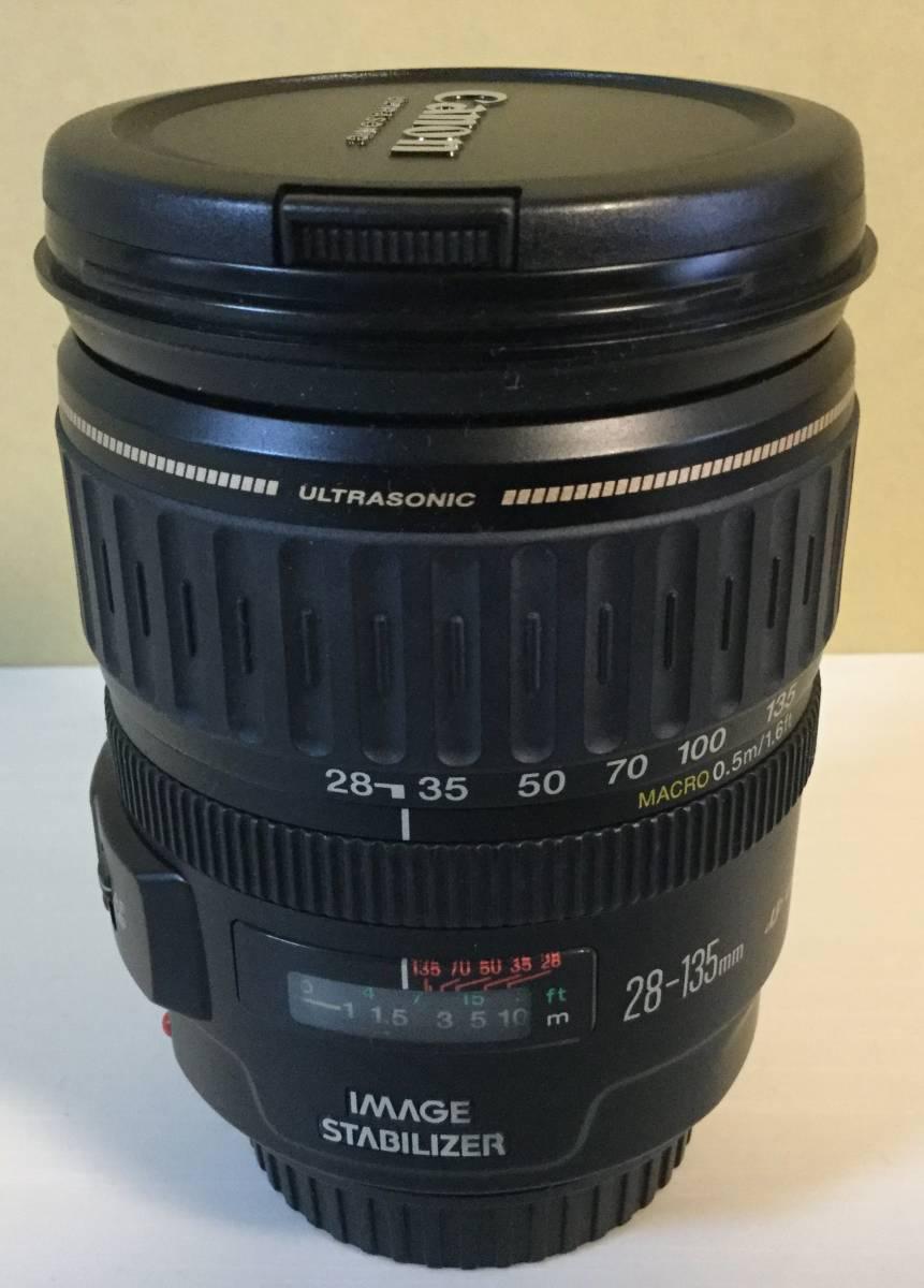 ○Canon キャノン ズームレンズ EF28-135mm F3.5-5.6 IS USM