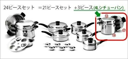 【美品1円】 Amway アムウェイ 鍋セット 24ピースセット 料理 レシピブック付き キッチン ツール セット