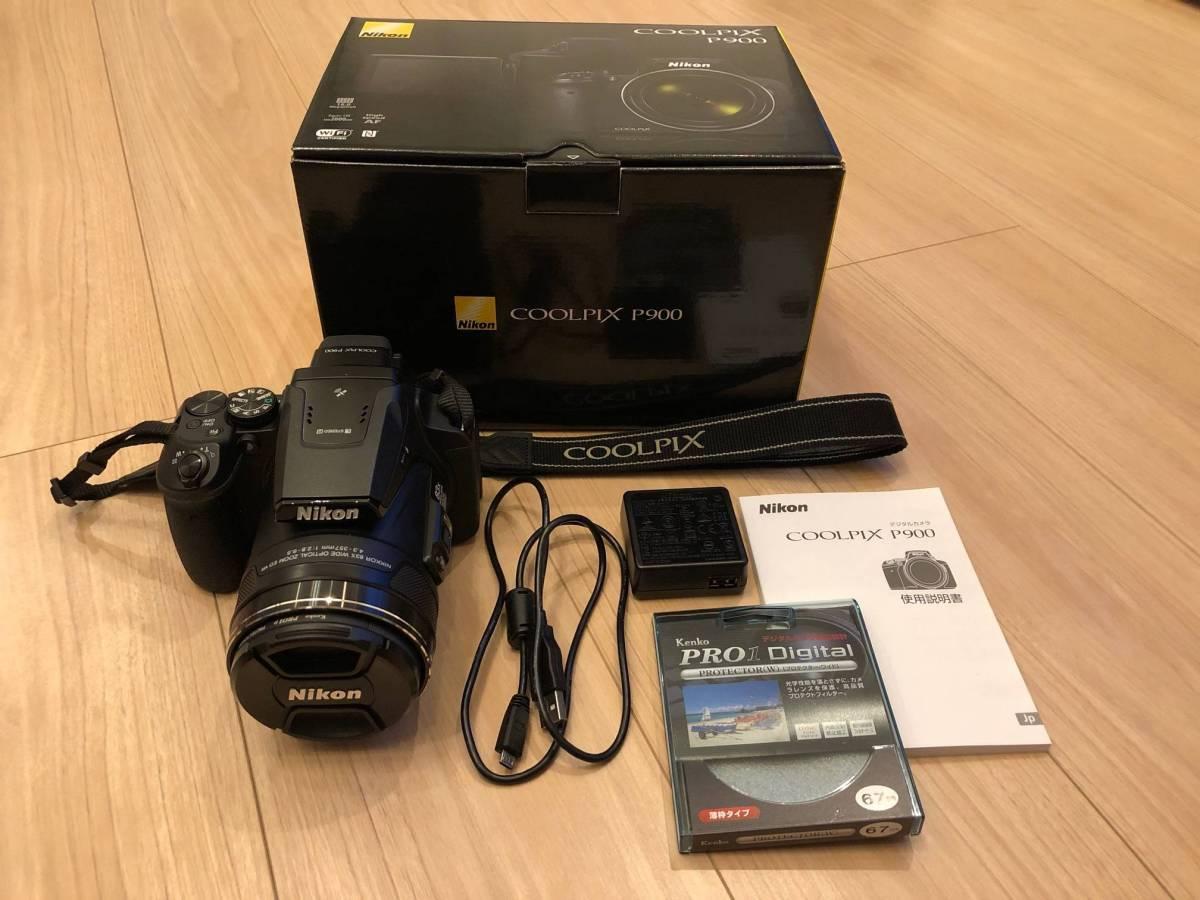 【 美品 】 Nikon COOLPIX P900 (送料込み)