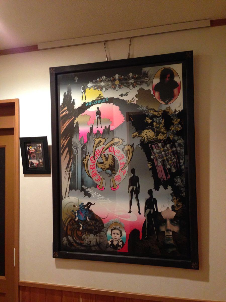 クロムハーツ 横尾忠則 ポスター版画 サインあり 直営店同等品