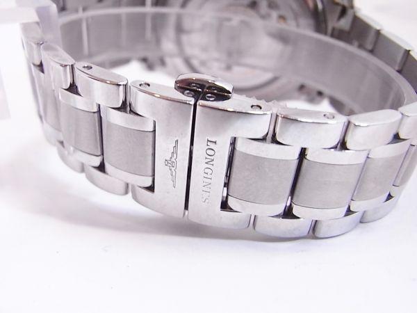 ◆◇美品LONGINES/ロンジン マスターコレクション メンズ腕時計 自動巻き 裏スケルトン◇◆_画像4