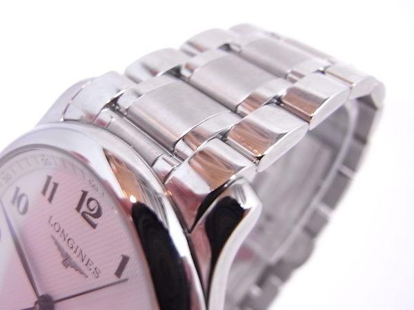 ◆◇美品LONGINES/ロンジン マスターコレクション メンズ腕時計 自動巻き 裏スケルトン◇◆_画像10