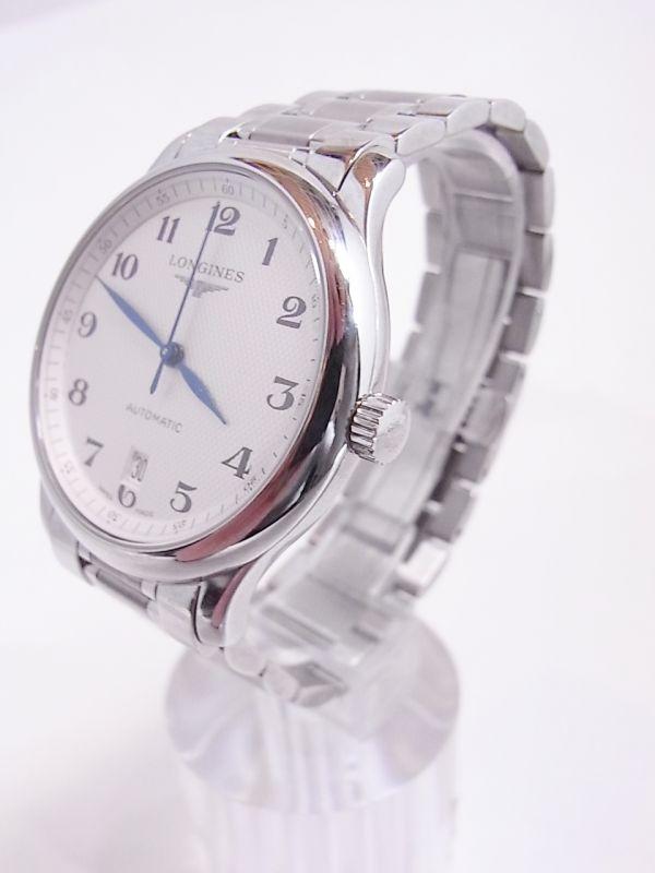 ◆◇美品LONGINES/ロンジン マスターコレクション メンズ腕時計 自動巻き 裏スケルトン◇◆_画像2