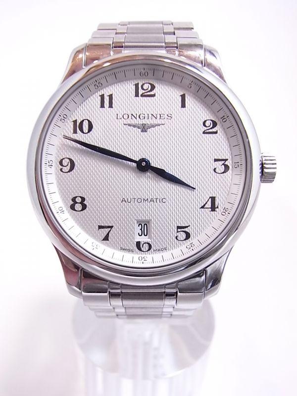 ◆◇美品LONGINES/ロンジン マスターコレクション メンズ腕時計 自動巻き 裏スケルトン◇◆