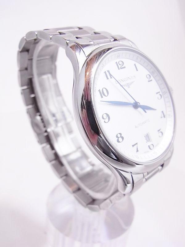 ◆◇美品LONGINES/ロンジン マスターコレクション メンズ腕時計 自動巻き 裏スケルトン◇◆_画像8
